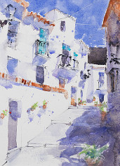 frigiliana giclee watercolours