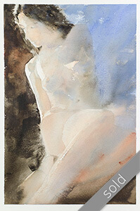 Watercolour painting KlausHinkel-watercolours-Beautiful Light